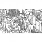 Exposition Le livre des livres par Marc-Antoine Mathieu chez Huberty & Breyne Gallery