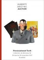 Passionnément Tardi, une vente aux enchères chez Huberty & Breyne Gallery