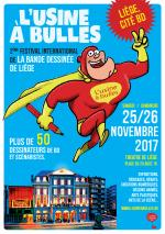 Seconde édition du Festival Usine à Bulles à Liège : le programme