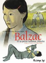 Balzac et la petite tailleuse chinoise : le propos graphique de Freddy Nadolny Poustochkine uni au propos littéraire de Dai Sijie