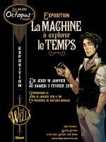 Exposition consacrée à Mathieu Moreau pour La Machine à explorer le temps
