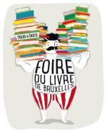 Programme du Lombard à la Foire du Livre de Bruxelles