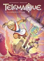 Quelques influences mangas, un soupçon de comics, une grosse louche de franco-belge, voici Télémaque  Télémaque1 – A la recherche d'Ulysse