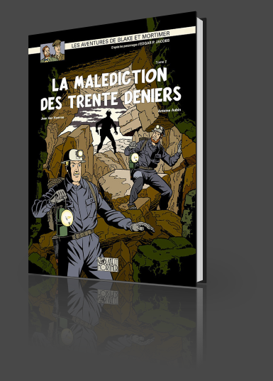 Interview avec antoine aubin - Blake et mortimer la porte du druide ...